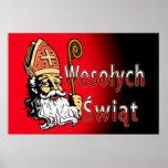 Wesolych Swiat St. Nicholas Posters