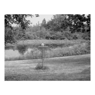 Wessel Pines Disc Golf Course Poster