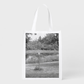 Wessel Pines Disc Golf Course Grocery Bag