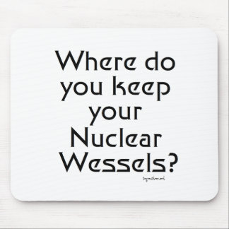 Wessels nuclear alfombrilla de ratón