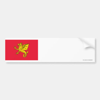 Wessex Flag Bumper Sticker