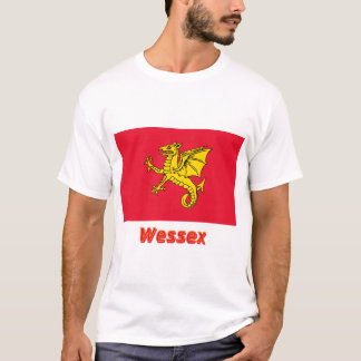 Wessex Flag with Name T-Shirt