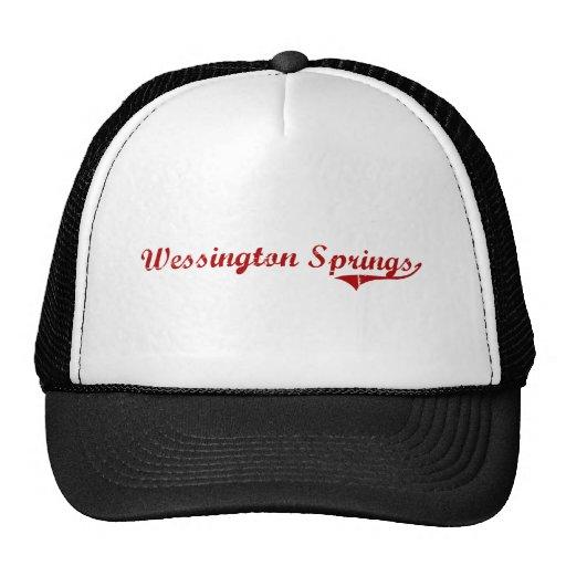 Wessington Springs South Dakota Classic Design Mesh Hat
