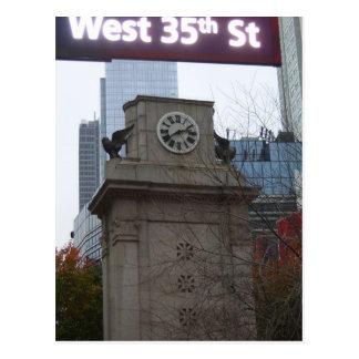 West 35th Street Postcard NYC by CricketDiane
