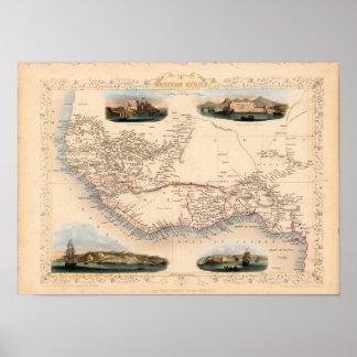 West Africa 1851 Print