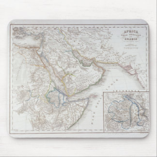 West Africa and Arabia Mouse Pad