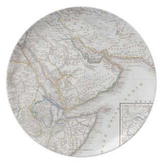 West Africa and Arabia Party Plate