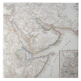 West Africa and Arabia Tile