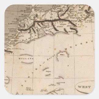 West Africa Map by Arrowsmith Sticker