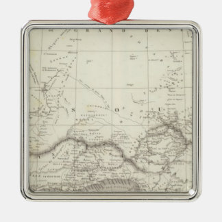 West Africa Map Christmas Ornament