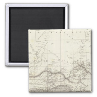 West Africa Map Magnets