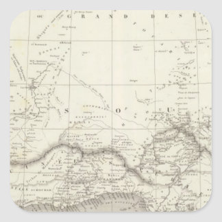 West Africa Map Stickers