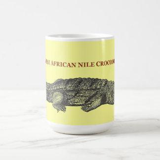 West African Nile Crocodile Coffee Mug