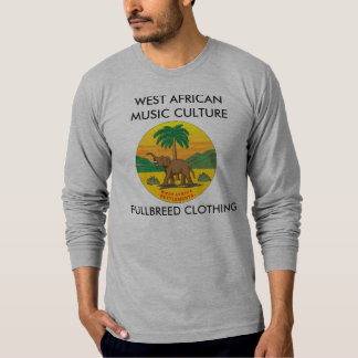 WEST AFRICANMUSIC CULTURE, FULLBREED CLO... T SHIRT