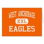 West Anchorage - Eagles - High - Anchorage Alaska Card
