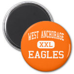 West Anchorage - Eagles - High - Anchorage Alaska Magnet