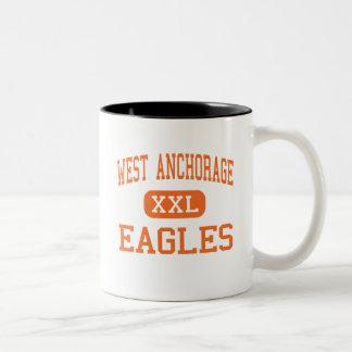 West Anchorage - Eagles - High - Anchorage Alaska Coffee Mug