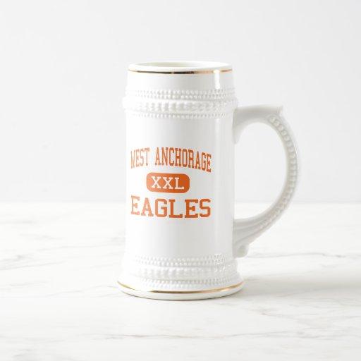 West Anchorage - Eagles - High - Anchorage Alaska Mug