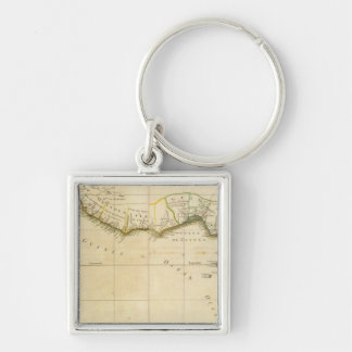 West and Central Africa Keychain