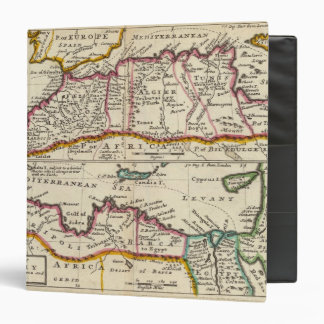 West and east parts of Barbary 3 Ring Binder