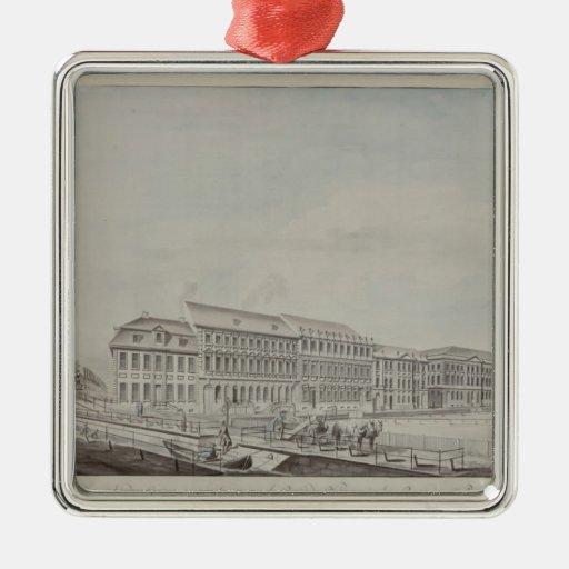 West aspect of Wilhelmsplatz, c.1773 Metal Ornament