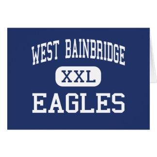 West Bainbridge Eagles Middle Bainbridge Greeting Cards