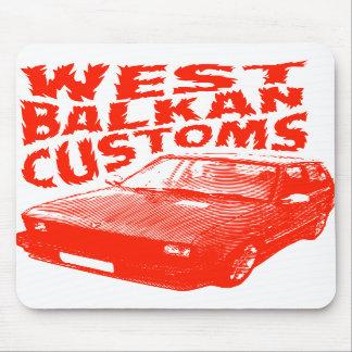 West Balkan Customs Mousepads