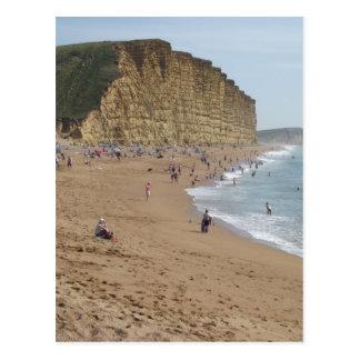West Bay beach Postcard