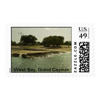 West Bay, Grand Cayman Islands Postage Stamp