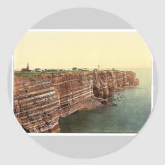 West Beach and the Oberland, Helgoland, Germany ra Stickers
