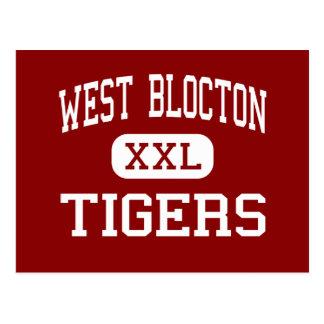 West Blocton - Tigers - High - West Blocton Postcard