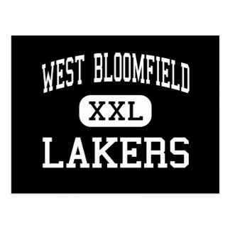 West Bloomfield - Lakers - High - West Bloomfield Postcard
