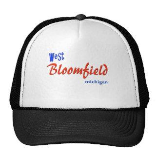 West Bloomfield Michigan Trucker Hat