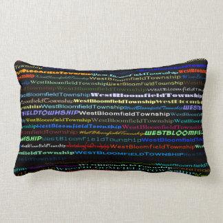 West Bloomfield Township TextDsign I Lumbar Pillow