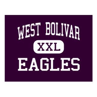West Bolivar - Eagles - High - Rosedale Postcard