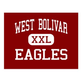 West Bolivar - Eagles - Middle - Rosedale Postcard