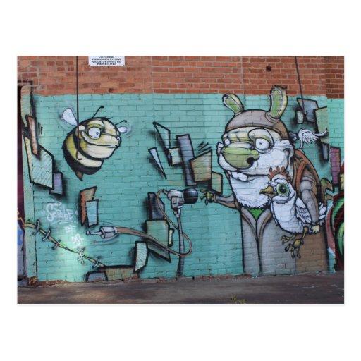 West Bottoms Graffiti Artwork # 15 Post Cards