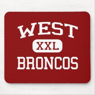 West - Broncos - Middle - Huntington West Virginia Mouse Pad