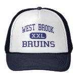 West Brook - Bruins - High School - Beaumont Texas Mesh Hats