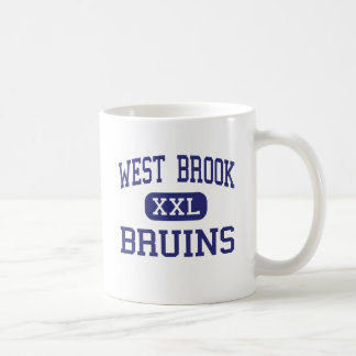 West Brook - Bruins - High School - Beaumont Texas Classic White Coffee Mug