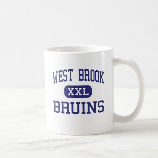 West Brook - Bruins - High School - Beaumont Texas Coffee Mugs