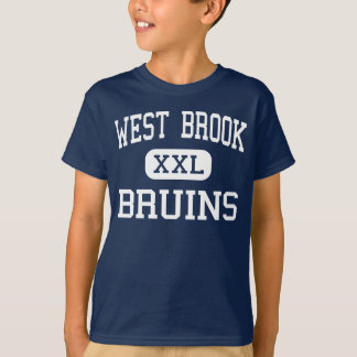 West Brook - Bruins - High School - Beaumont Texas T-Shirt