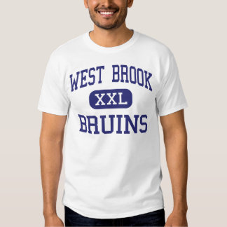 West Brook - Bruins - High School - Beaumont Texas Tshirts