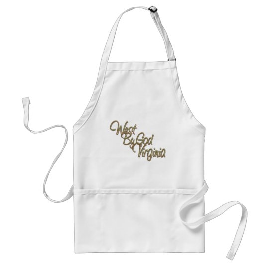 West by God Virginia_2 Adult Apron