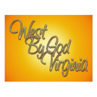 West by God Virginia_2 Post Cards