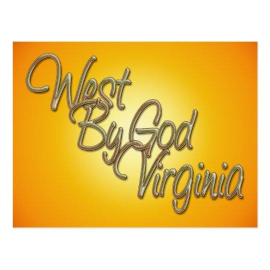 West by God Virginia_2 Postcard