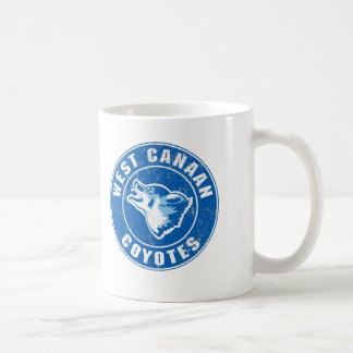 West Canaan Coyotes Classic White Coffee Mug