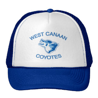 West Canaan Coyotes Mesh Hats
