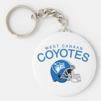 West Canaan Coyotes Keychain