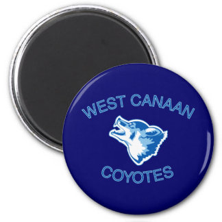 West Canaan Coyotes Magnet